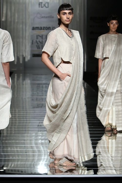 10 saree draping styles
