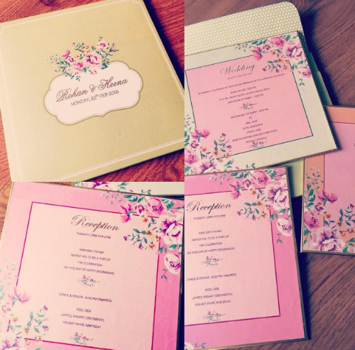 12 wedding invitation ideas