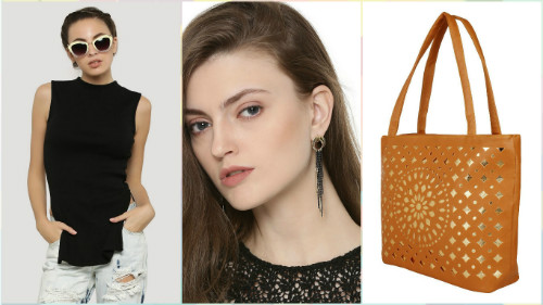 2 fashionable college outfits under Rs 1000