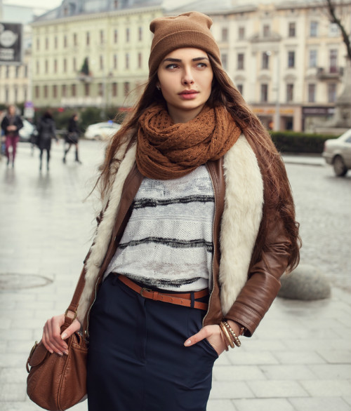 2 how to look stylish in winters