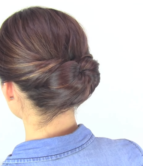 2 simple hairstyles