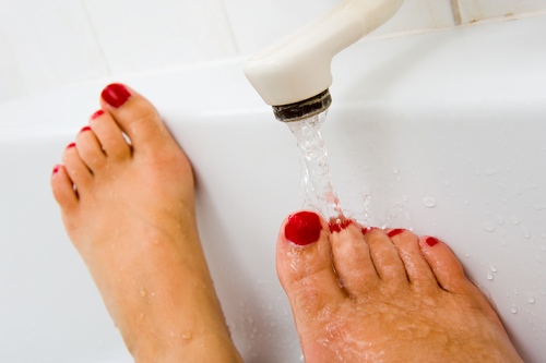 2 tips for pretty feet