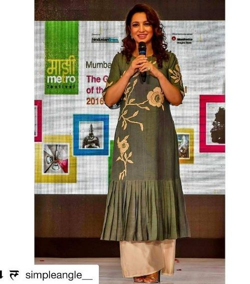 2 ways to style an anarkali