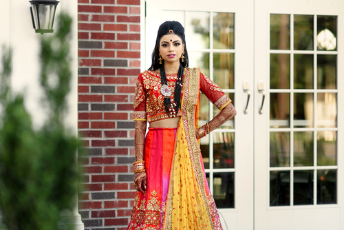 3 bridal lehengas in Mumbai