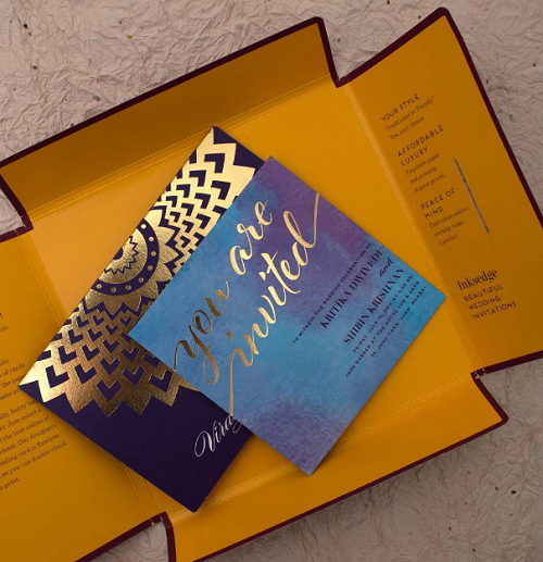 3 wedding invitation ideas