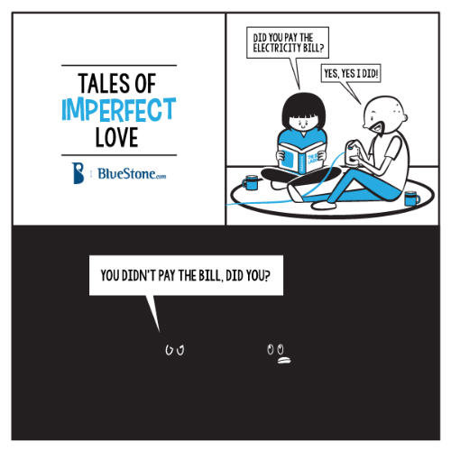 4 funny comics about love