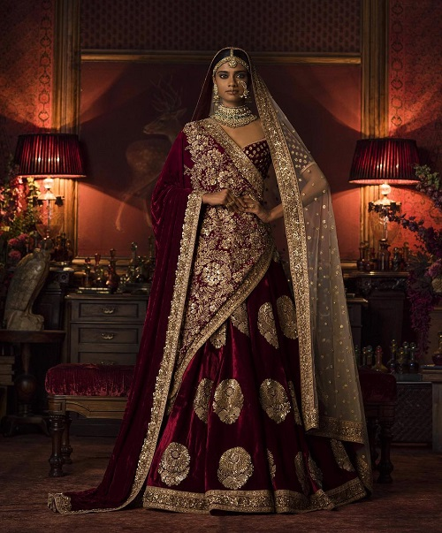 5 bridal lehenga colours