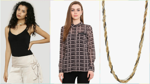 5 fashionable college outfits under Rs 1000