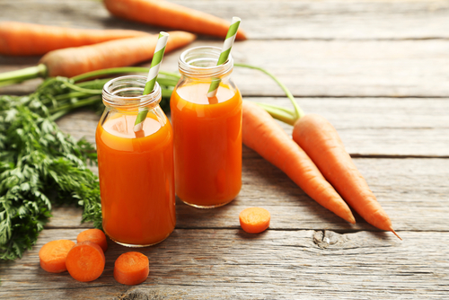 5 glowing skin - carrots