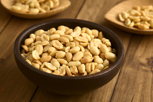 5 glowing skin - peanuts