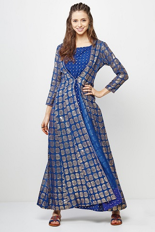 6 indo western wedding outfits