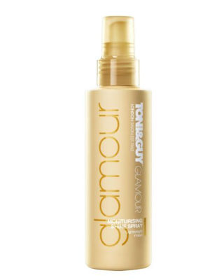 8 curly hair - ToniGuy Glamour Moisturising Shine Spray