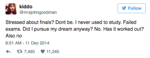 7 tweets about adulthood