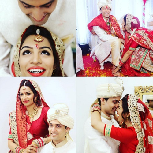 celebrity couple shikha singh karan shah 1