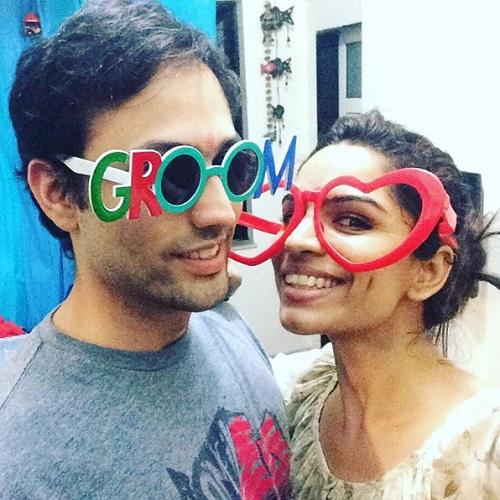 celebrity couple shikha singh karan shah 7