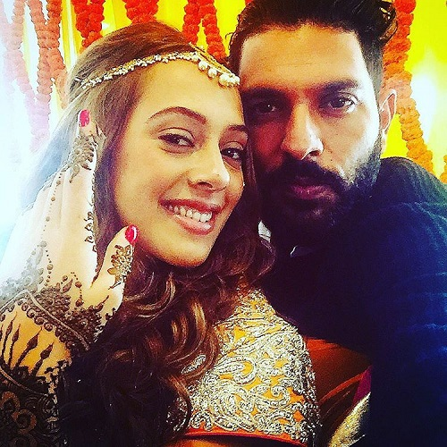 1 Yuvraj Singh gets married