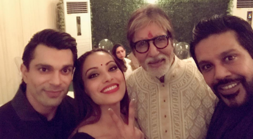 2 amitabh bachchan diwali party