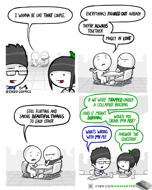 4 funny couple comics