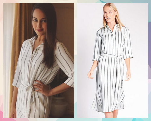 6 best celebrity dresses - sonakshi sinha
