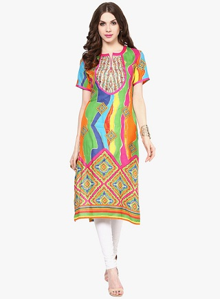 6 colourful kurtas to buy online