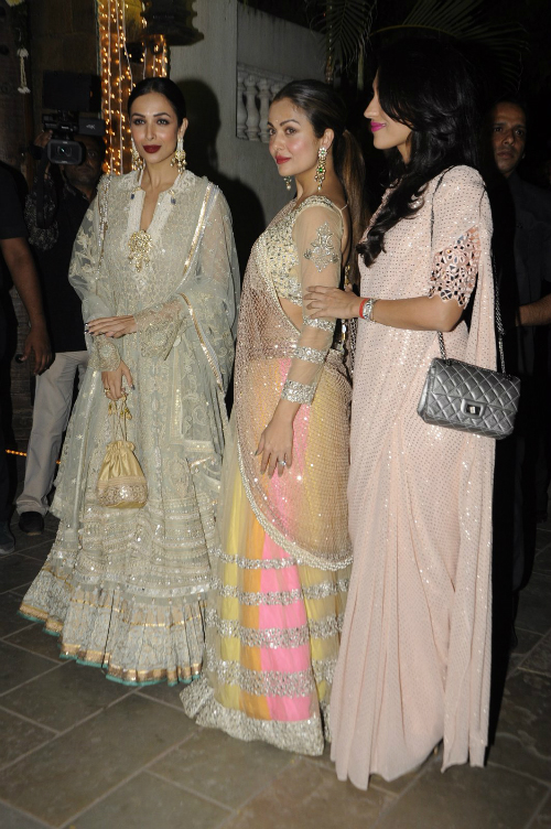 9 amitabh bachchan diwali party (1)