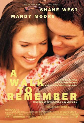 Breakup Movies For Girls- A walk to remember