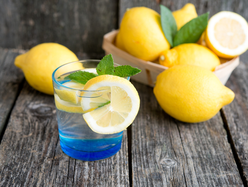 1 ways to get glowing skin - lemon
