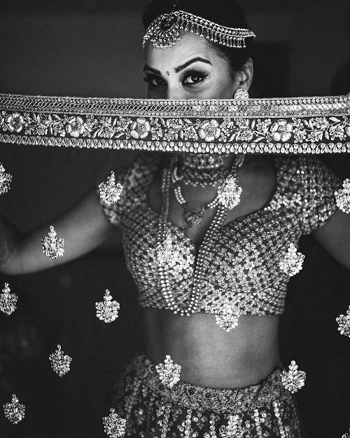 5 solo poses for the bride