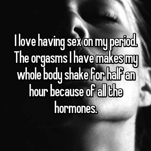 6 sex during period