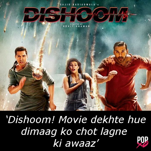 one line movie review - dishoom b