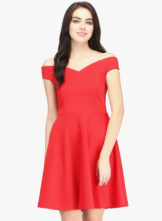 red-dress-attractive-items