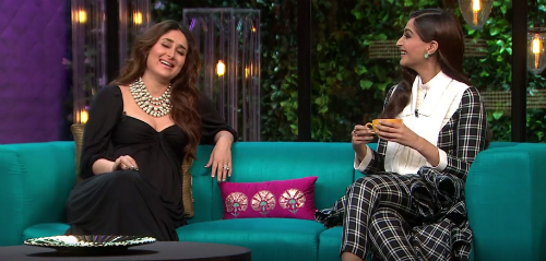 1 Kareena Sonam on Koffee with Karan