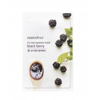 1 face packs for glowing skin - Innisfree Its Real Squeeze Mask