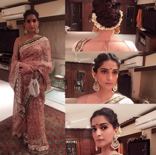 1 hairstyles for the wedding guest - Sonam Kapoor