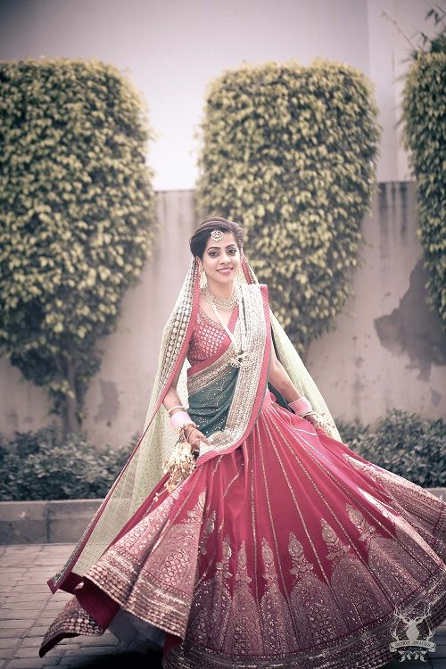 10 bridal lehengas of 2016