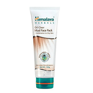 14 face packs for glowing skin - Himalaya Herbals Oil Clear Mud Pack