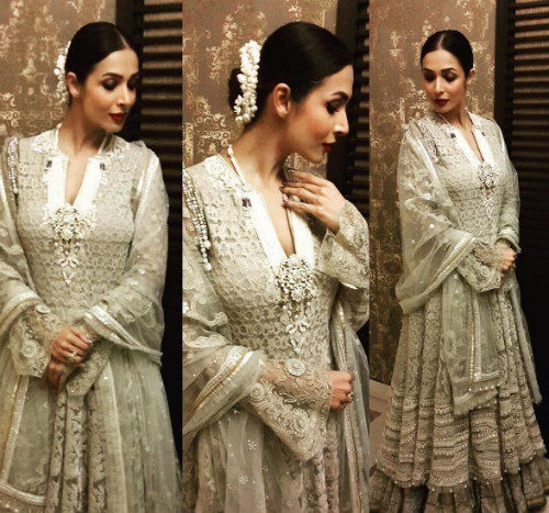 2 hairstyles for the wedding guest - Malaika Arora