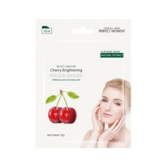 4 face packs for glowing skin - MondSub Cherry Brightening Facial Mask