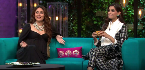 5 Kareena Sonam on Koffee with Karan