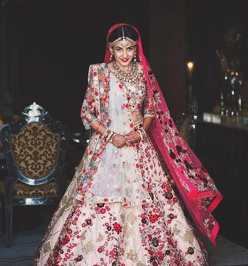 5 bridal lehengas of 2016
