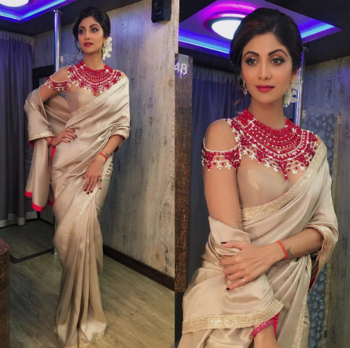 5 hairstyles for the wedding guest - Shilpa Shetty