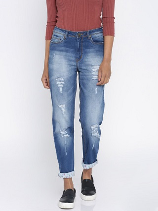 5 ripped jeans