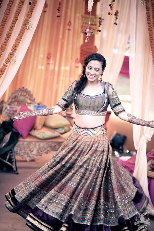 8 bridal lehengas of 2016