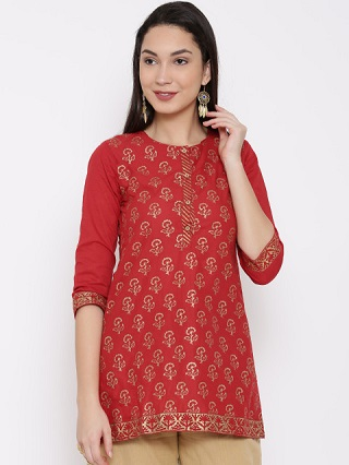 1 party wear kurtis