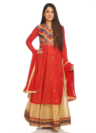12 anarkali suits for the wedding guest