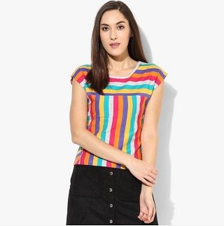 15 bright coloured tops