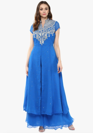 2 anarkali suits for the wedding guest