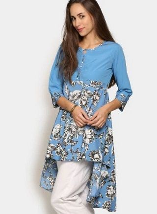 2 party wear kurtis