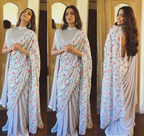 2 saree draping styles