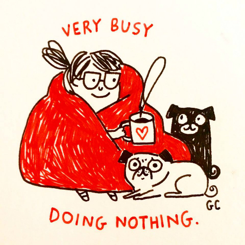 3 illustrations by gemma correll